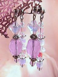 Lavender Haze — Earrings