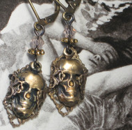 A Head Trip Skull Earrings