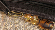 1 Simple Tiger Stripe Zipper Pull