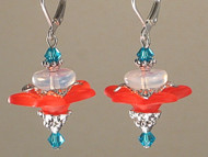Spring Beauty--Sweet Honeysuckle Earrings