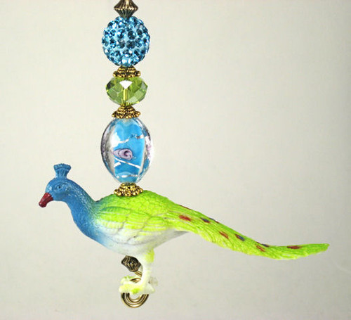 Peacock Ceiling Fan Pull Chain