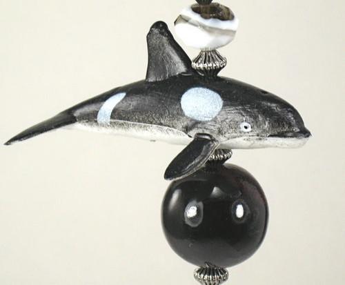 Killer Whale Ceiling Fan Pull Chain