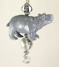 Hippopotamus Ceiling Fan Pull Chain
