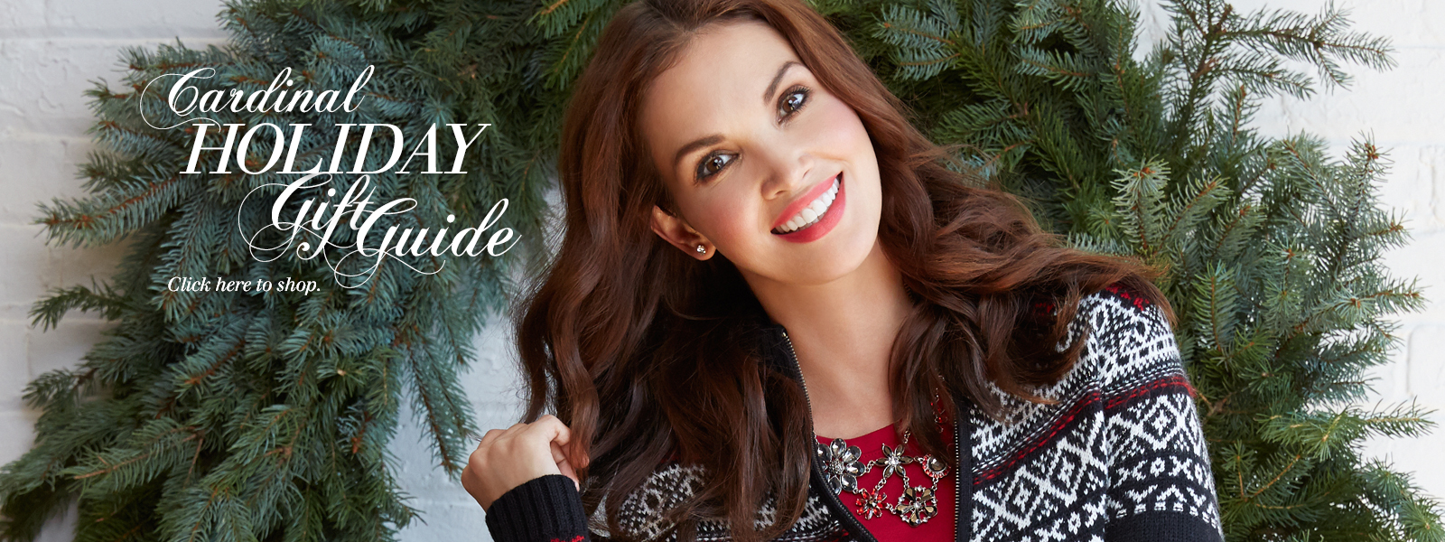 Shop Holiday Gift Guide Banner