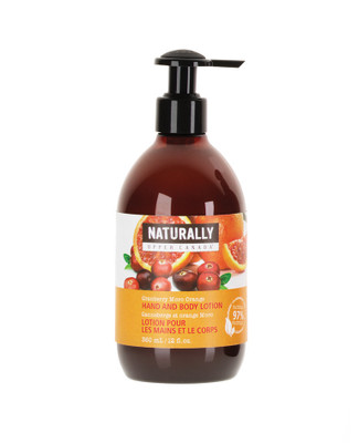 cranberry orange body lotion