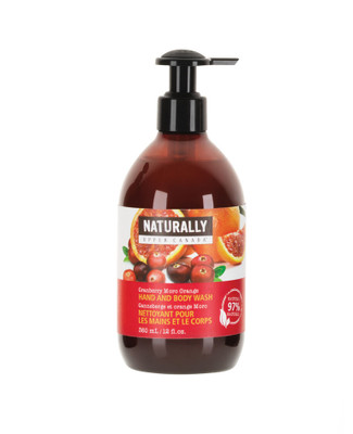 cranberry orange body wash