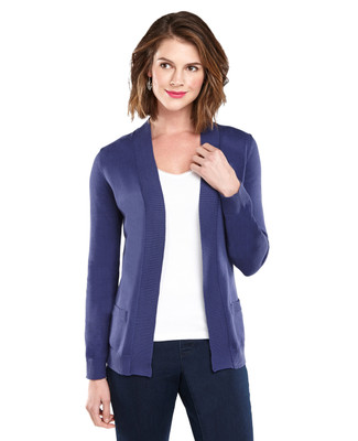 Open Front Jersey Cardigan