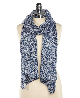 Abstract Textured Scarf