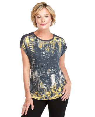 Double Printed Top