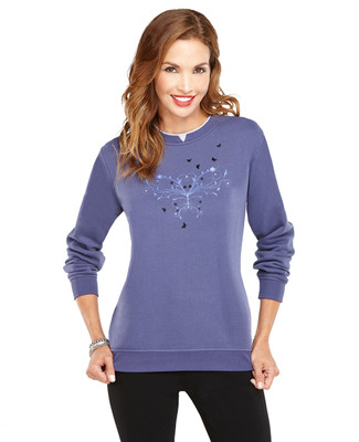 Crewneck Sweater Butterfly