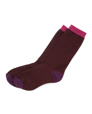 Block and Stripe Socks
