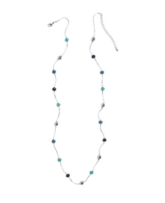 Beaded Rope with Beads Necklace