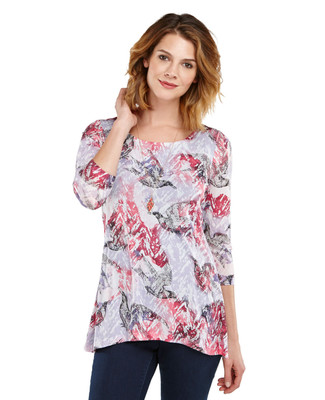Printed Double Layered Tunic