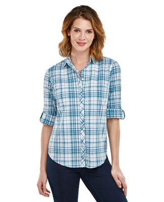 Plaid Crinkle Shirt