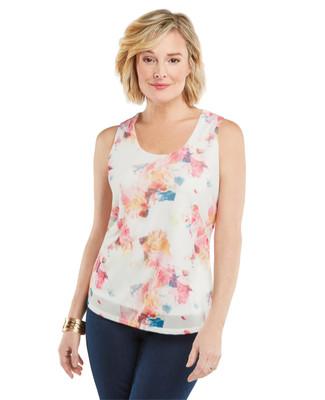 Amanda Green - Soft Floral Knit Top