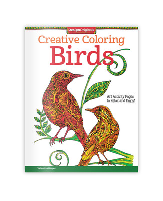 Creative Colouring Birds Book