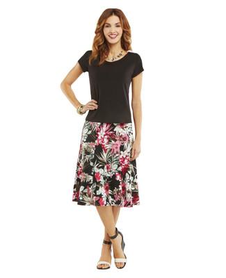 Nina K - Tropical Skirt Set