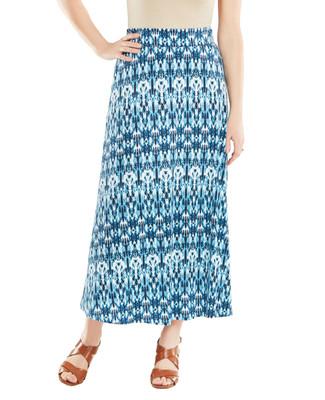 Nina K - Ikat Maxi Skirt