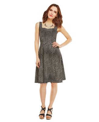 Nina K - Confetti Print Dress