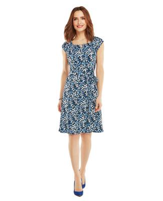 Nina K - Ditzy Leaf Dress