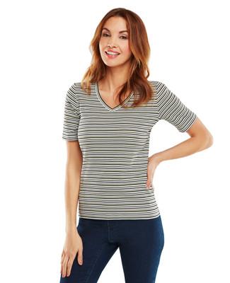 Tarragon Stripe T-shirt