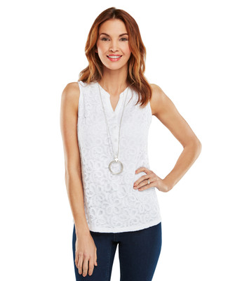 Urban Oasis Lace Front Tank