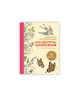 Delightful Gardens Coloring Book