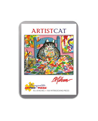 Artistic Cat Tin Puzzle