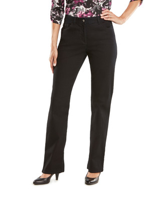 Black Town Embroidered Jean