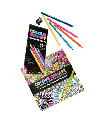 Adult Colouring Book Gift Set