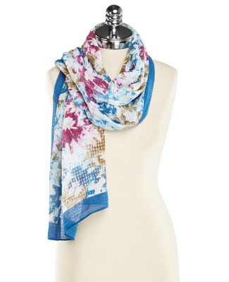 Capture Floral Scarf