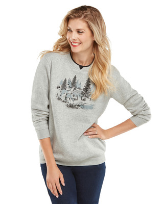 NEW - Fall Scenic Graphic Sweatshirt