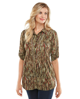 NEW - Journeys Journal Tunic Shirt