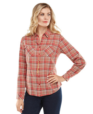 NEW - Khaki Plaid Shirt