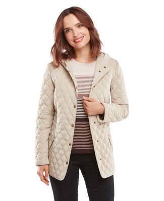 Double Diamond Quilt Jacket
