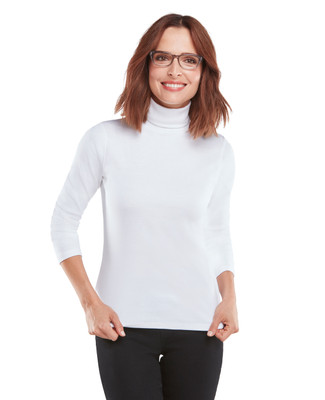 NEW - Solid Long Sleeve Turtleneck