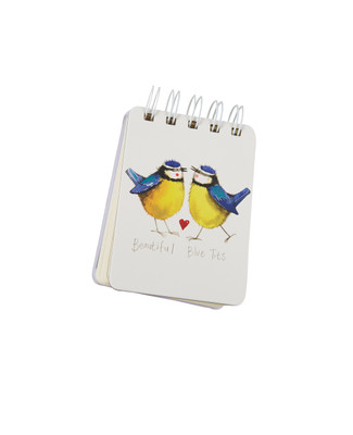 Blue Birds Notepad