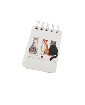 Good Bad and Furry Notepad