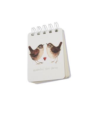 Wonderful Wee Wrens Notepad