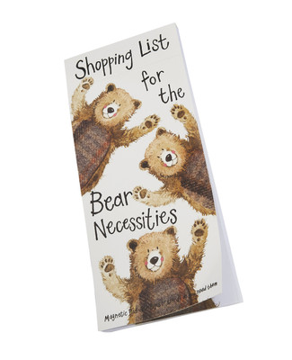 Bear Necessities Listpad