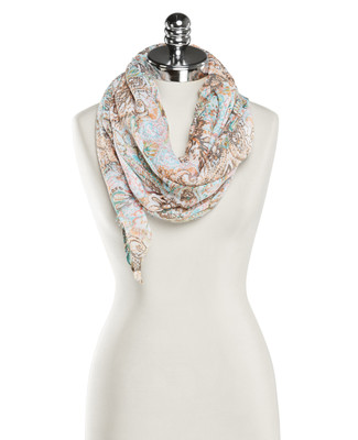 NEW - Baroque Paisley Scarf