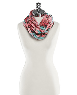 NEW - Mix Texture Infinity Scarf