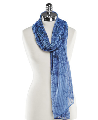 NEW - Textural Print Scarf