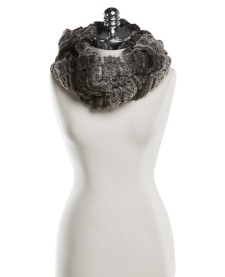 NEW - Faux Fur Infinity Scarf