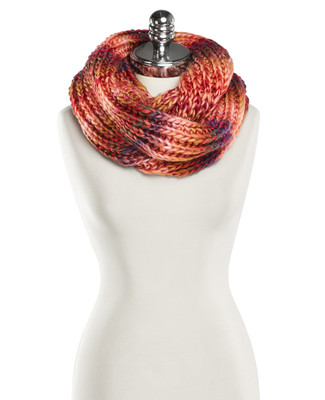 NEW - Multi Coloured Knit Infinity Scarf