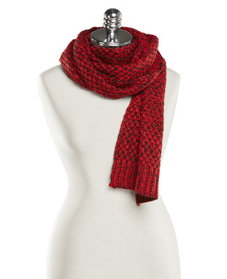 NEW - Textured Knit Rectangle Scarf