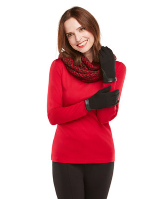 NEW - Fleece Lined Quilted Edge Glove