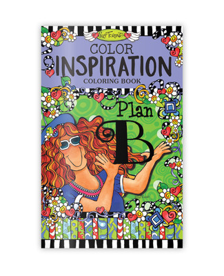 Colour Inspiration Colouring Book