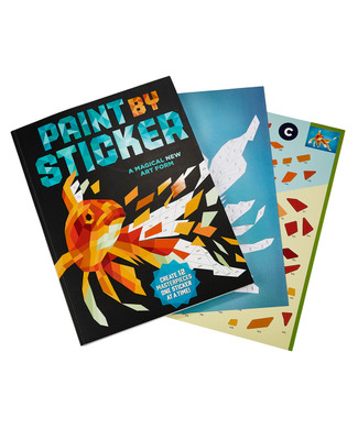 Paint by Sticker Masterpieces Book