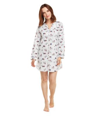 Owl Flannel Nightshirt